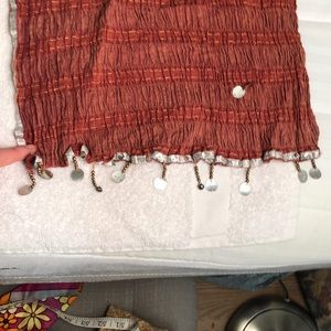 Vintage gauze scarf
